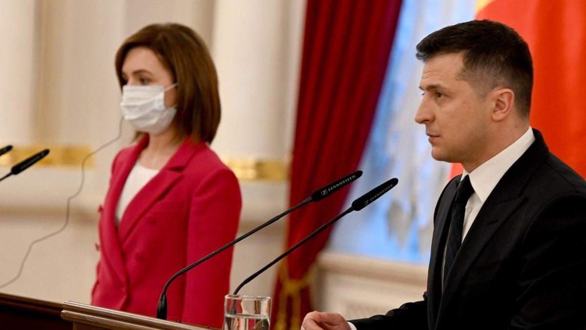 Президентка Санду представила бачення зовншньої політики Молдови