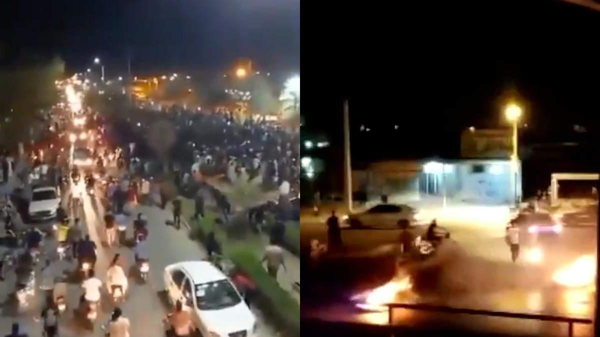 В Ірані не вщухають вуличні акції протесту через нестачу води: відео