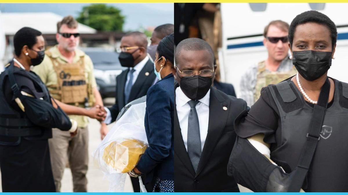 Дружина вбитого президента Гаїті повернулася в країну після лікування