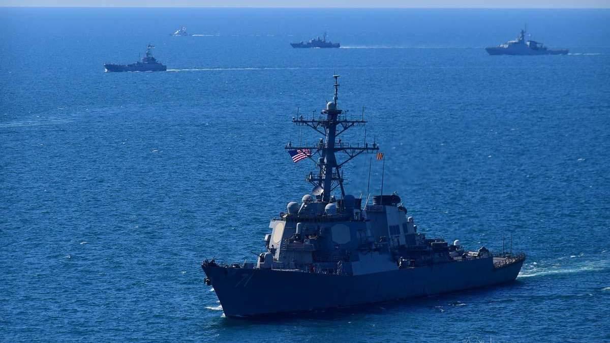 Кораблі США покинули Чорне море після навчань Сі Бриз-2021