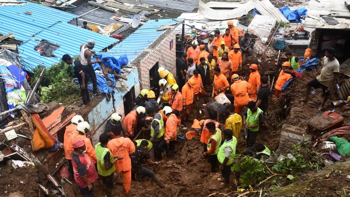 В Индии бушует непогода: жертвами стали уже более 20 человек