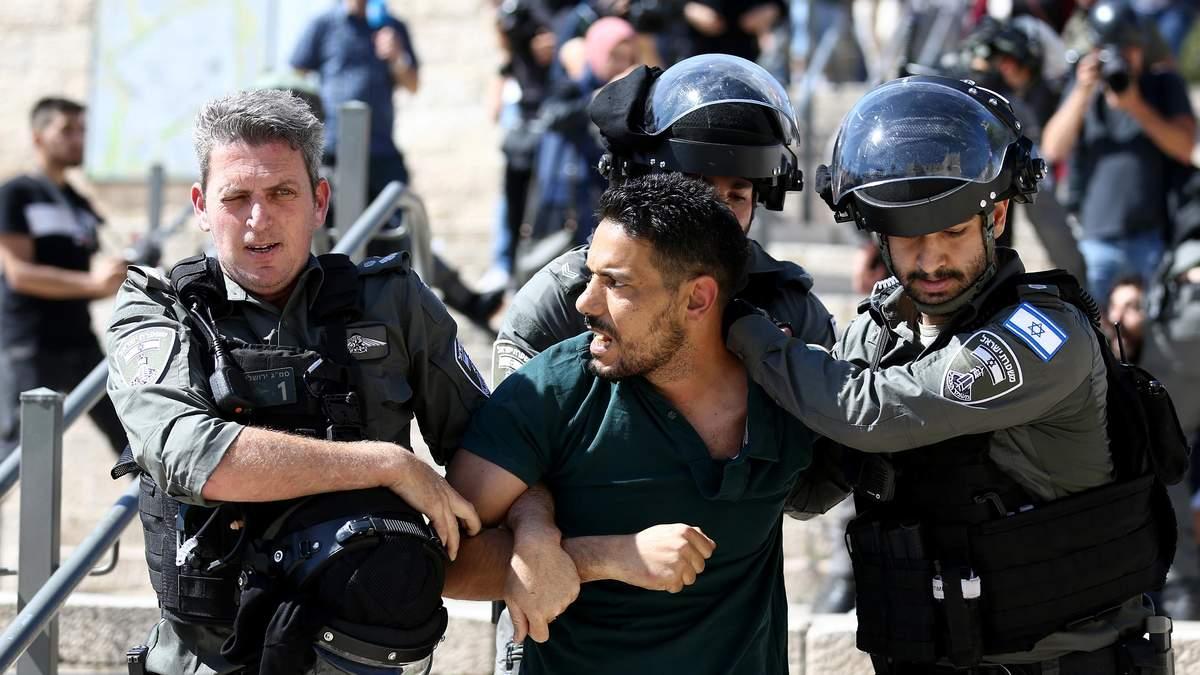 В Израиле произошли новые столкновения между палестинцами и полицией