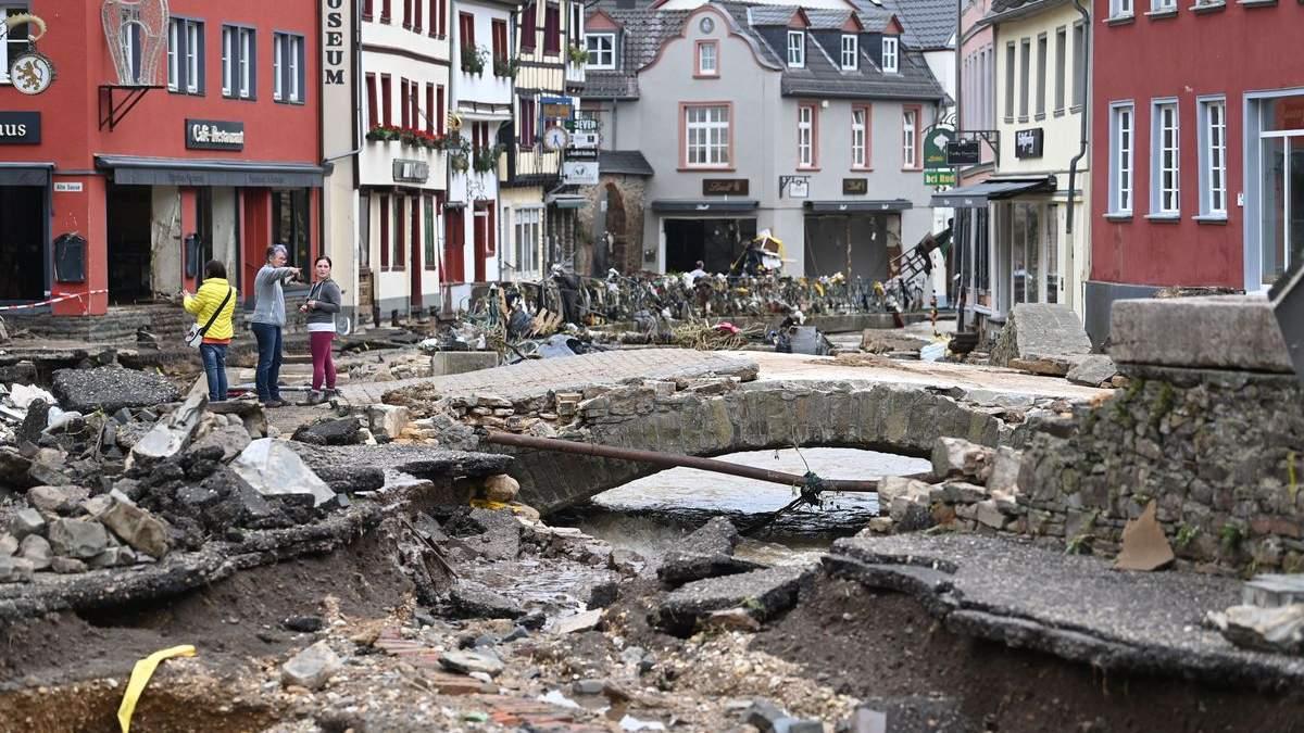 Наслідки потопу в Німеччині 2021