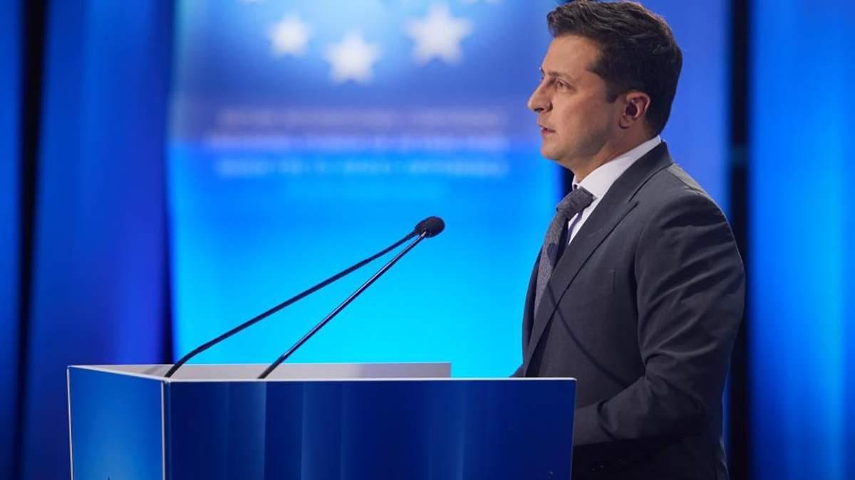 Зеленський сказав, що об'єднує Україну, Грузію і Молдову