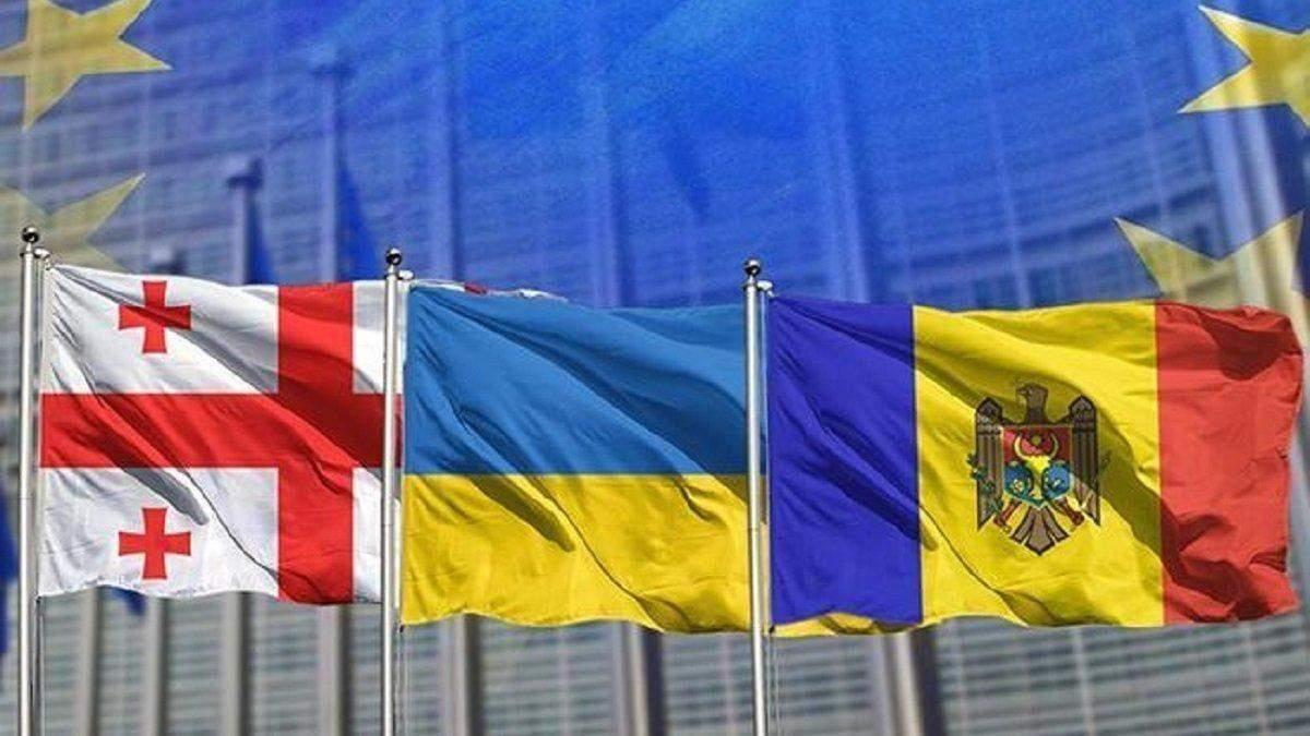 Україна, Грузія та Молдова можуть подати заявки на вступ до ЄС
