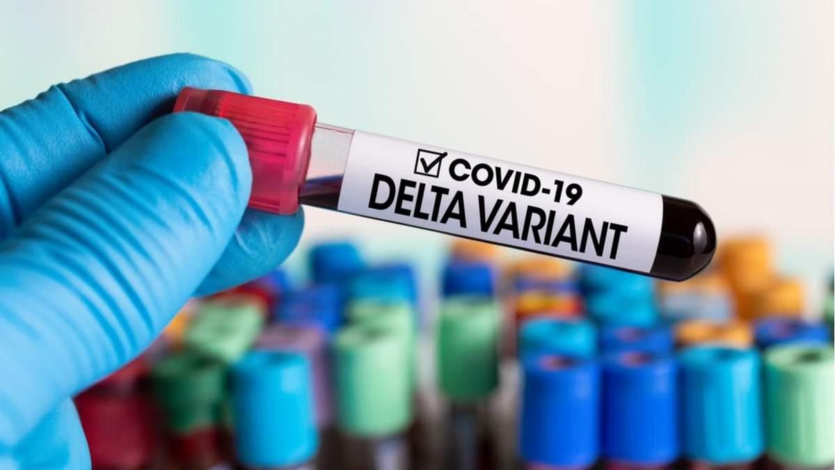 Дельта-варіант коронавірусу
