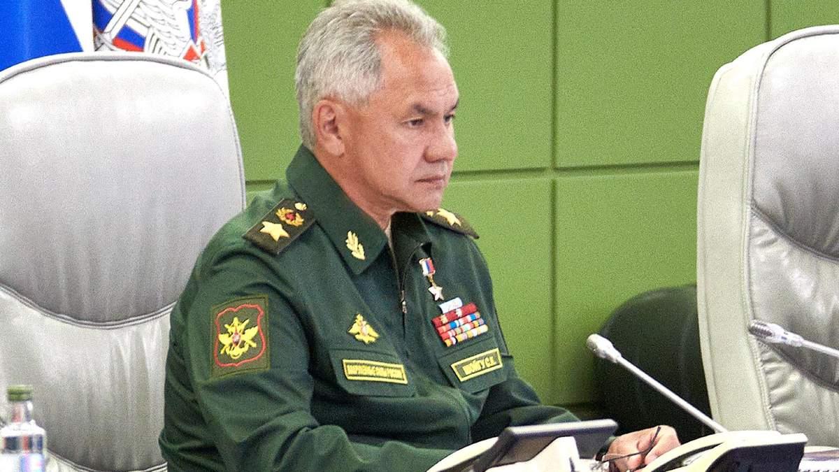 Украинский суд может арестовать министра обороны России Шойгу, – СБУ