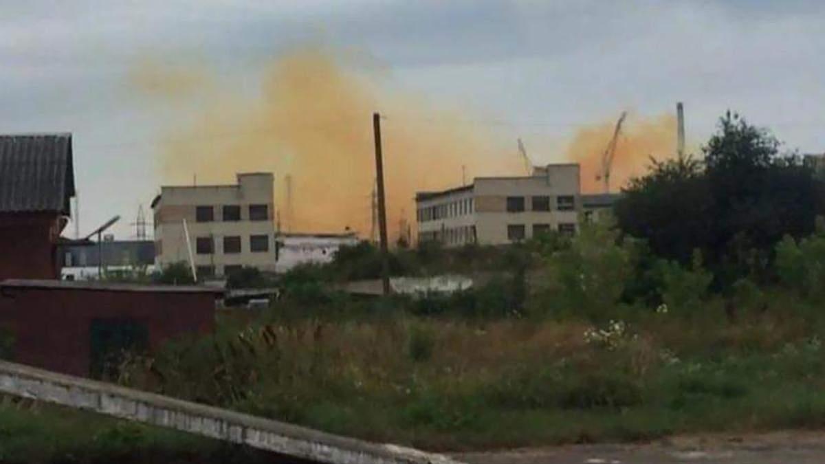 У Рівному 20.07.2021 стався вибух на  заводі: фото та відео