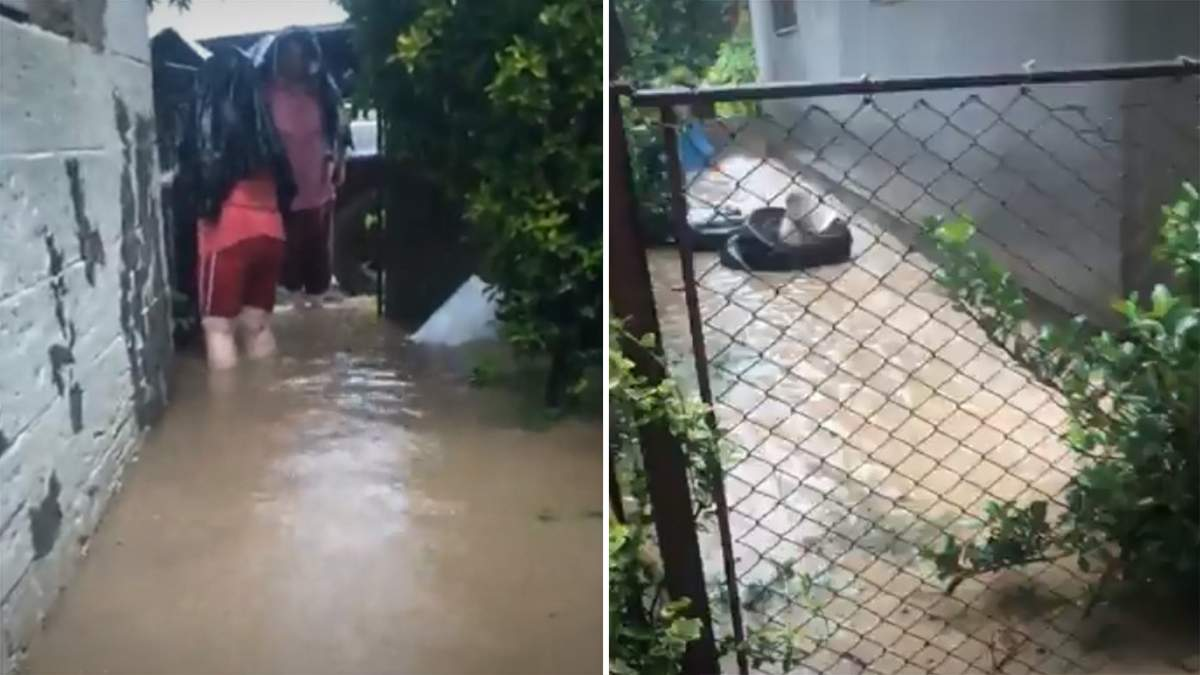 Люди по коліна у воді: наслідки негоди на Закарпатті – фото, відео