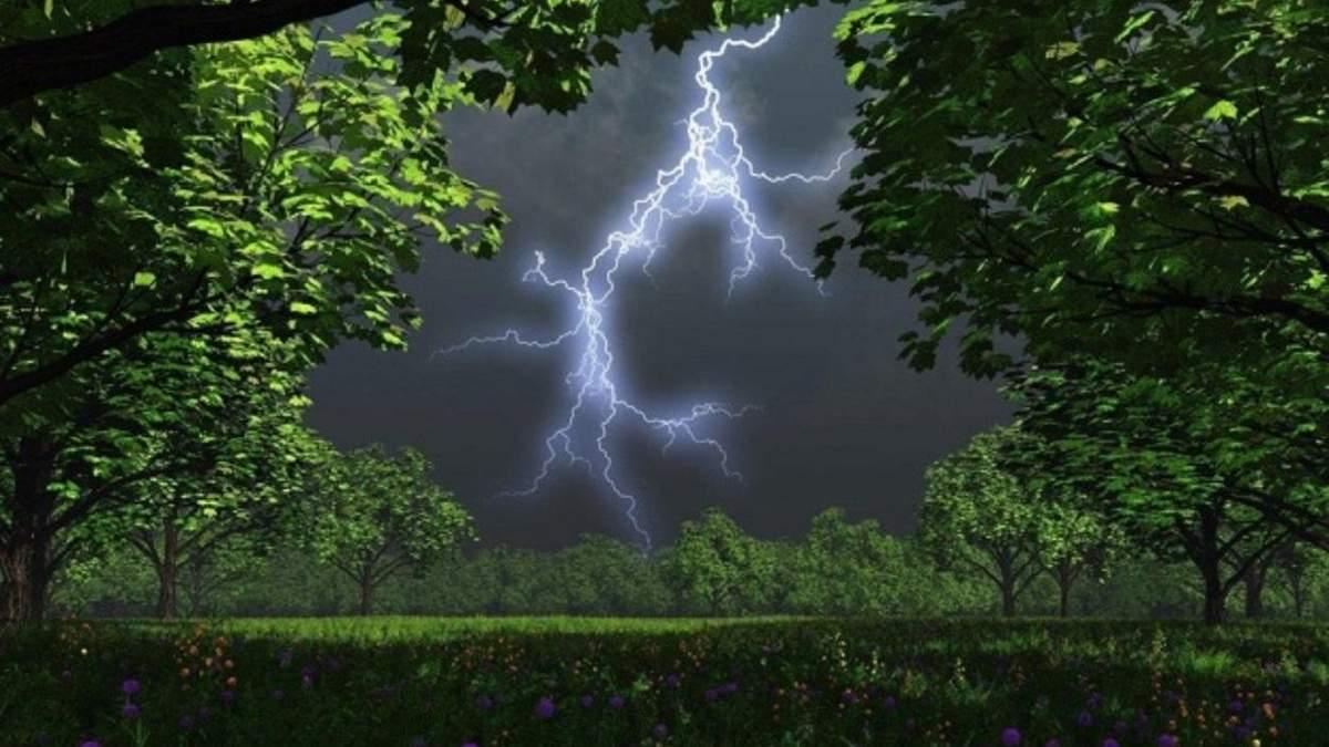 У Львові 21.07.2021 знову розгуляється негода: оголосили штормове попередження