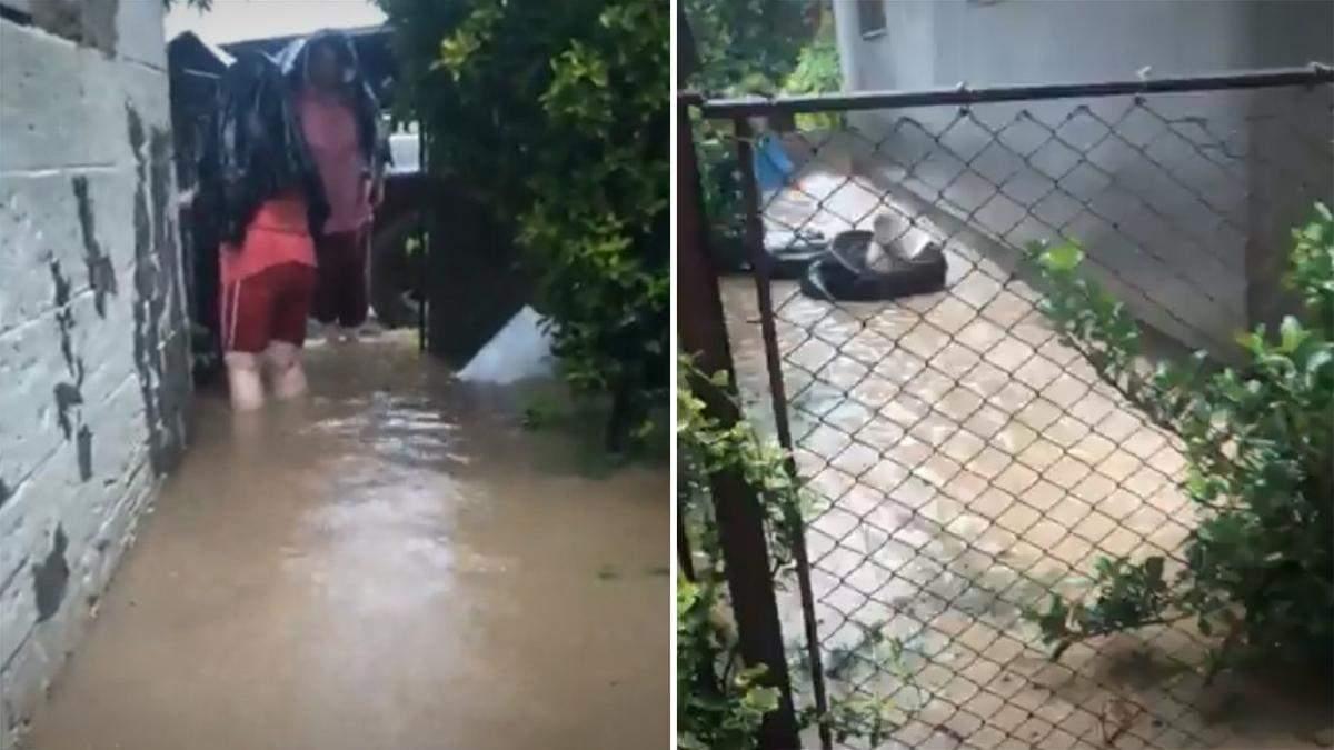 Люди по колено в воде: последствия стихии на Закарпатье – фото, видео