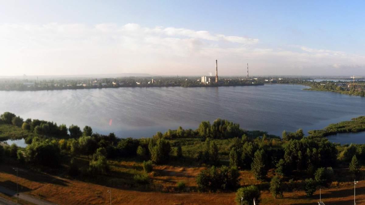 Озеро Вырлица в Киеве