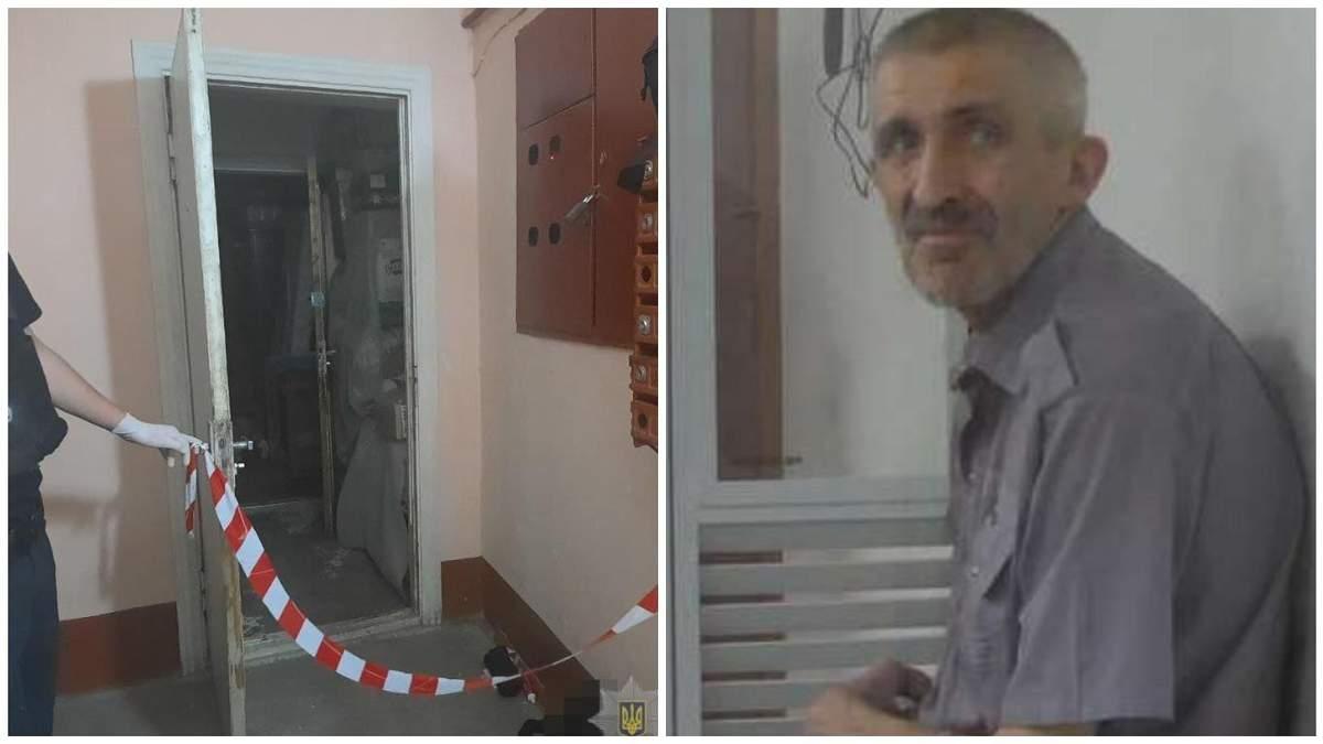 Убил ексдружину и дочь 62-летнего палача из Луцка арестовали