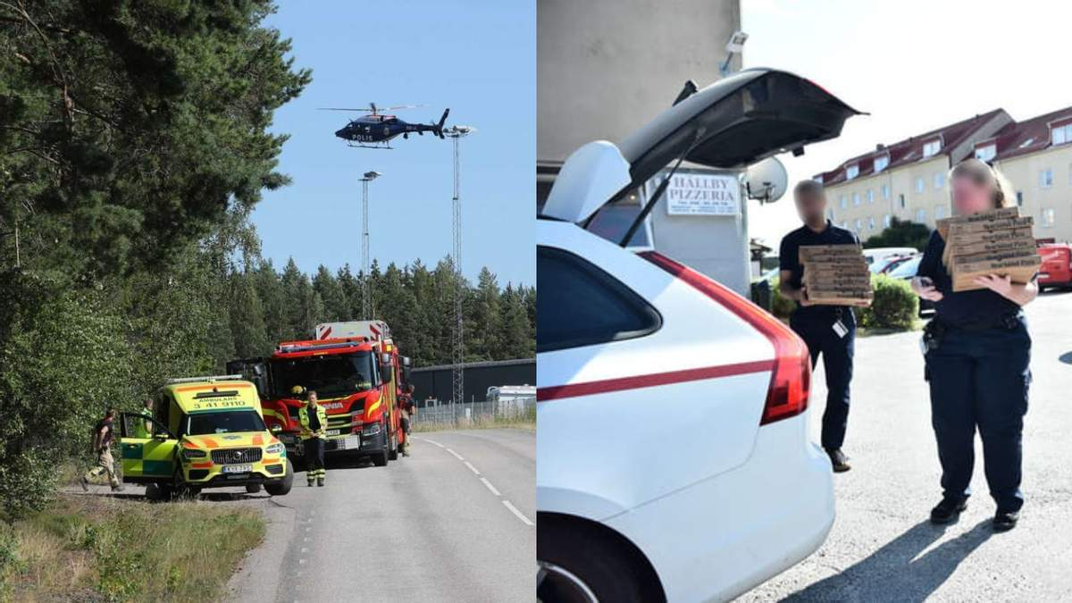 Требуют пиццу и вертолет: в тюрьме в Швеции узники взяли заложников