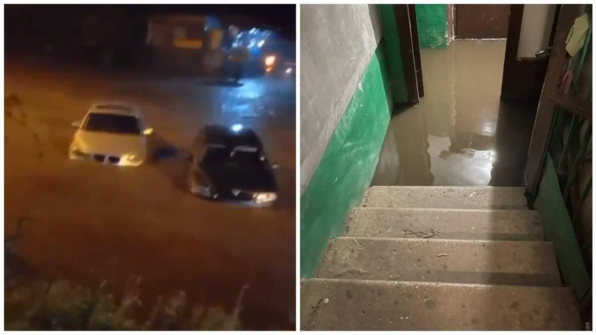 Потоп в Одессе ночью 22 июля: ужасные последствия – фото, видео