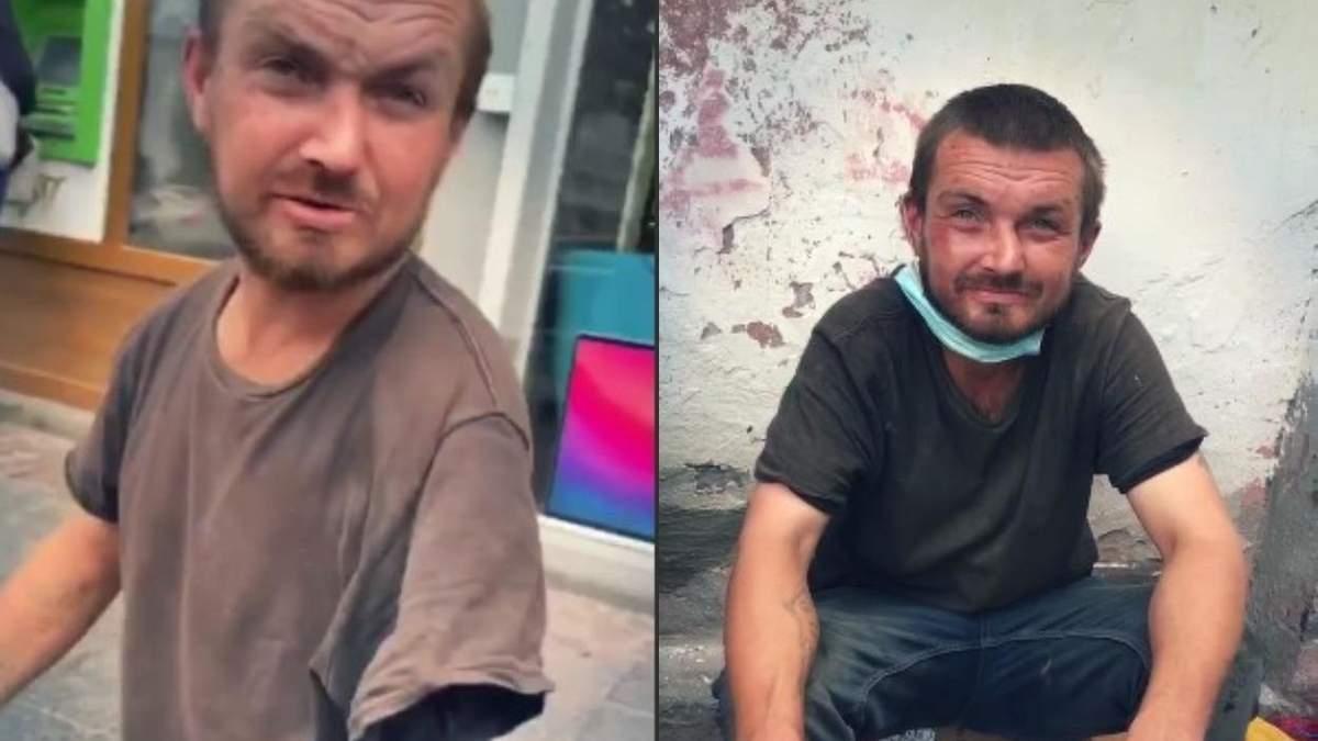Магічне зцілення: у львівського жебрака знову виросла рука – кумедне відео