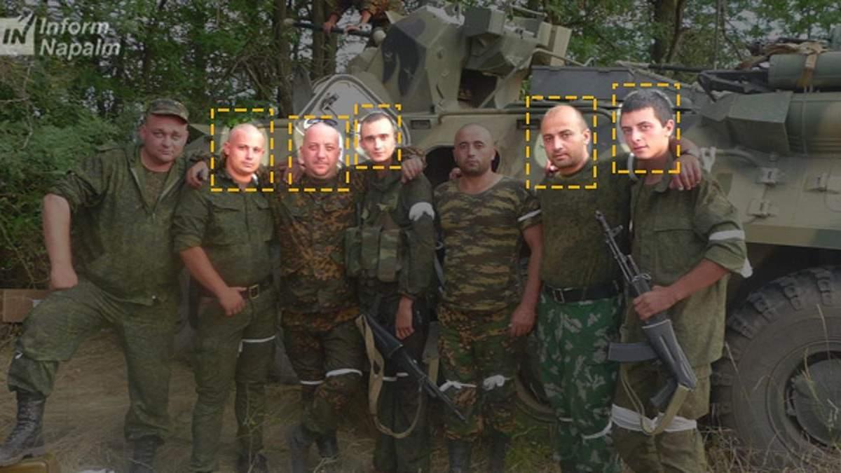 Волонтери InformNapalm назвали імена ще 5 російських бойовиків