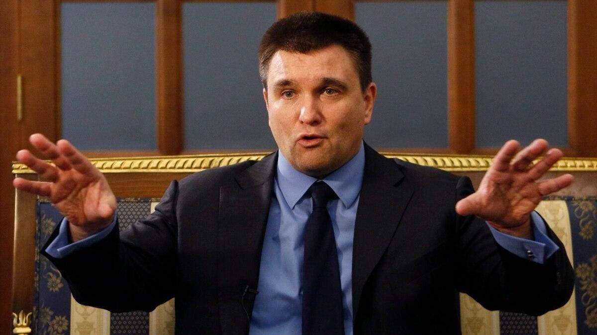 Клімкін назвав угоду щодо Північного потоку-2 катастрофічною для Києва