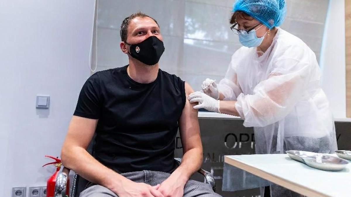 Андрей Пятов: должны вакцинироваться, если хотим, чтобы наши родные и близкие были здоровыми
