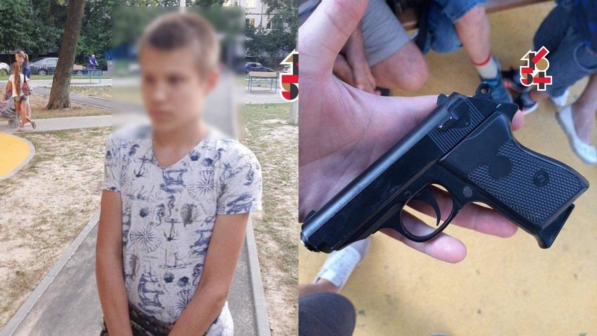 В Харькове 22.07.2021 школьник устроил стрельбу на детской площадке