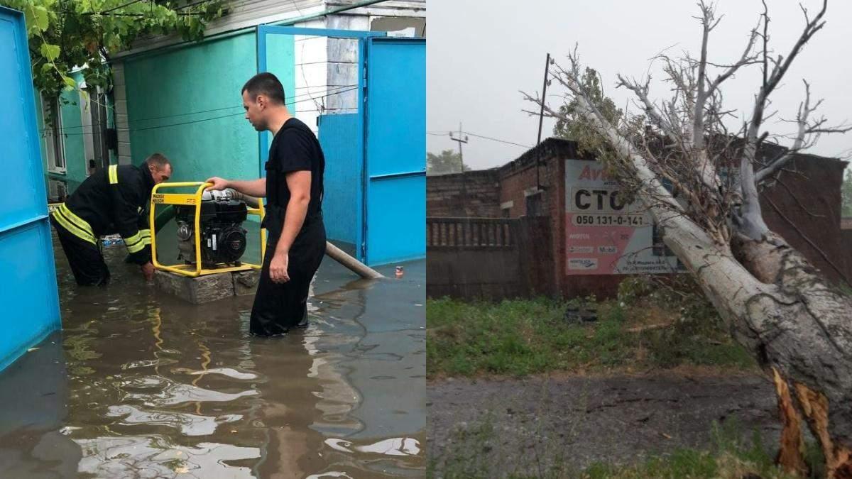 Непогода 22 июля 2021 наделала беды в Украине: фото