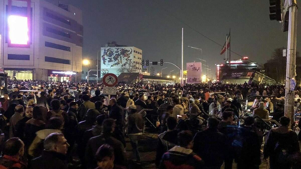 В Ірані шосту добу не вщухають масові протести через нестачу води