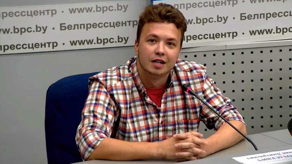 Роман Протасевич 23.07.2021 розкритикував білоруську опозицію