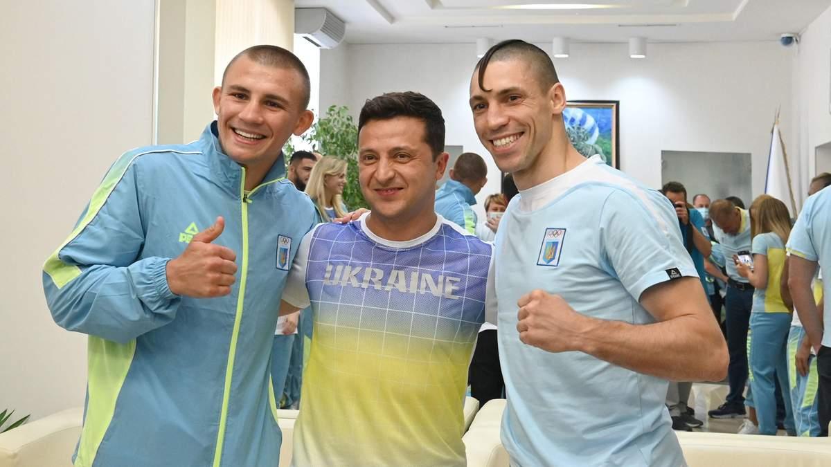 Зеленський підтримав збірну України перед Олімпіадою у Токіо