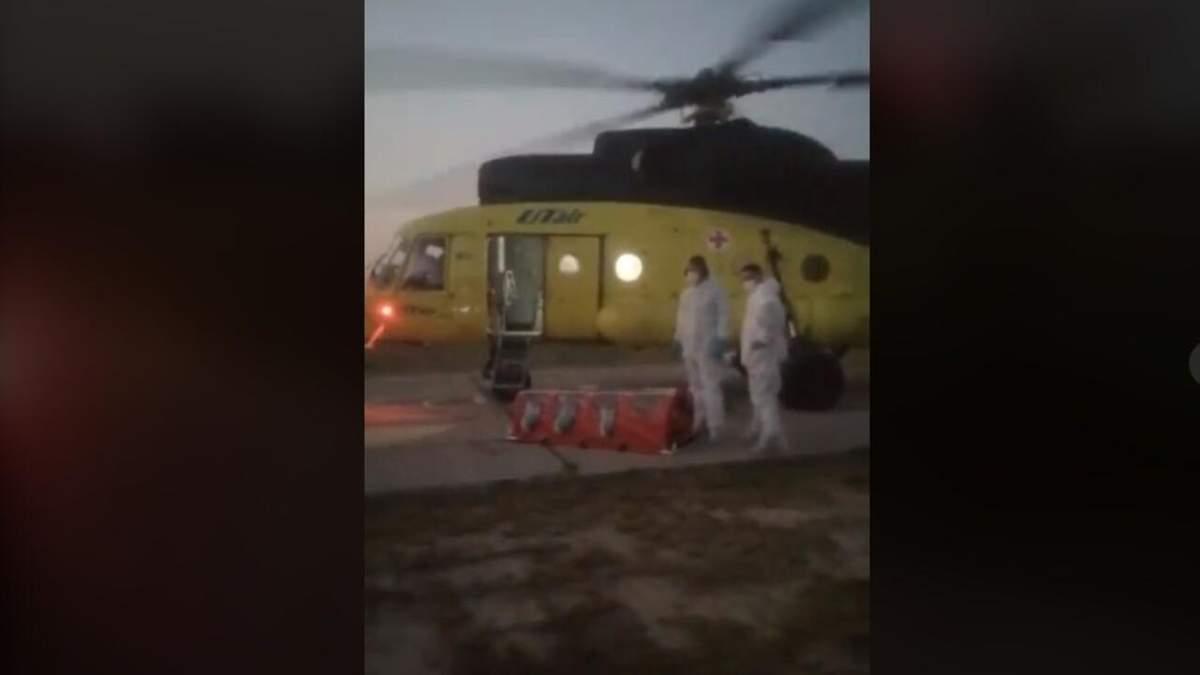 У Росії селяни прогнали медиків, які прилетіли по хворого на COVID-19