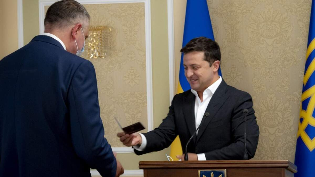 Зеленский представил нового главу внешней разведки Литвиненко