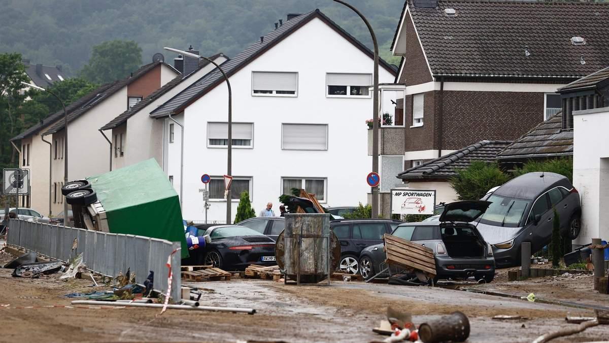 В Германии пострадавшие от наводнения регионы готовятся к осадкам