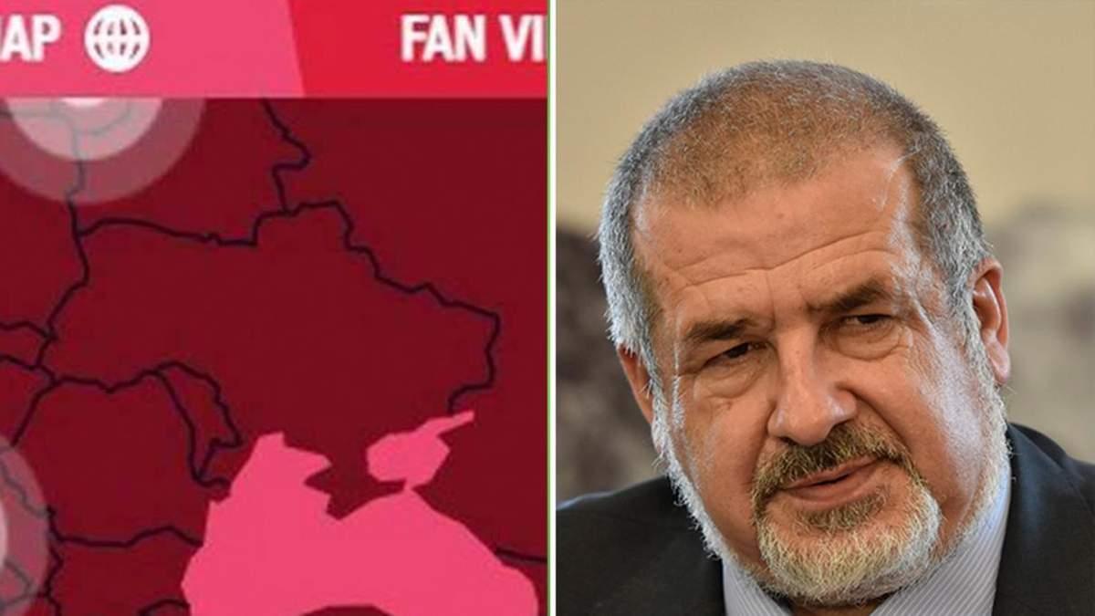 Чубаров нагадав Росії про Курили через вимоги до карти на Олімпіаді