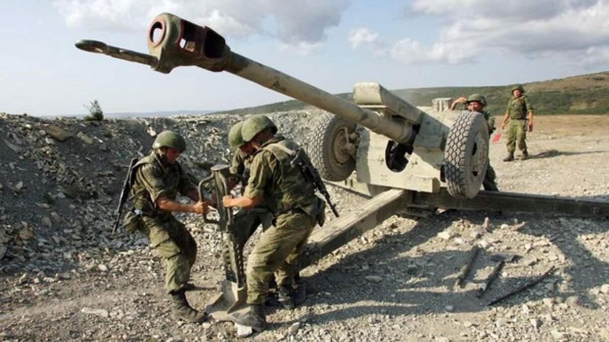 Гаубицы и танки на линии отвода: боевики игнорируют договоренности