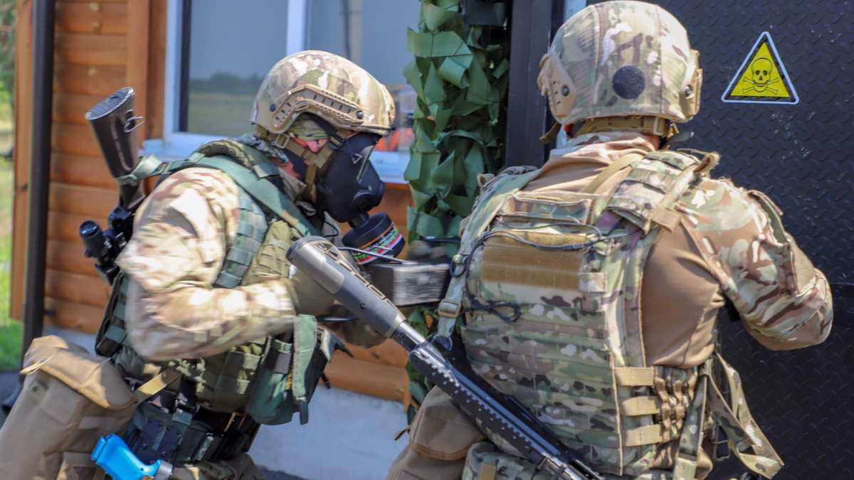 Как проходили соревнования спецназовцев в Черкасской