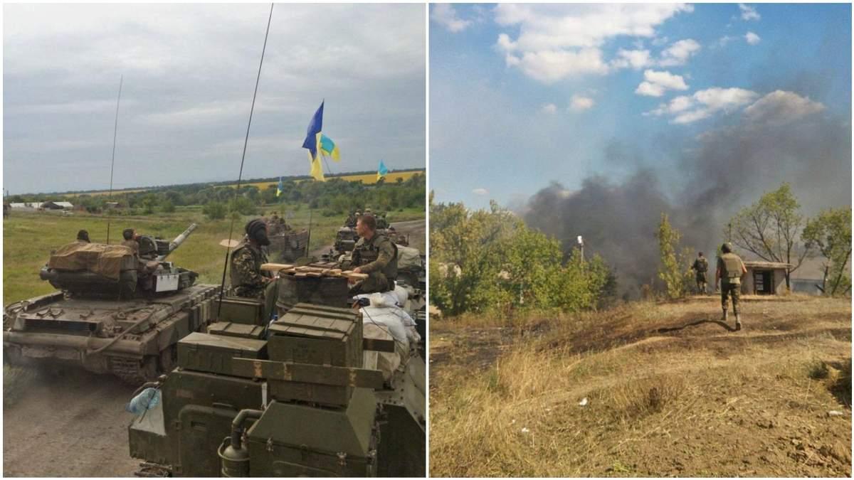 В річницю визволення Лисичанська місцеві пригадали подвиги ЗСУ