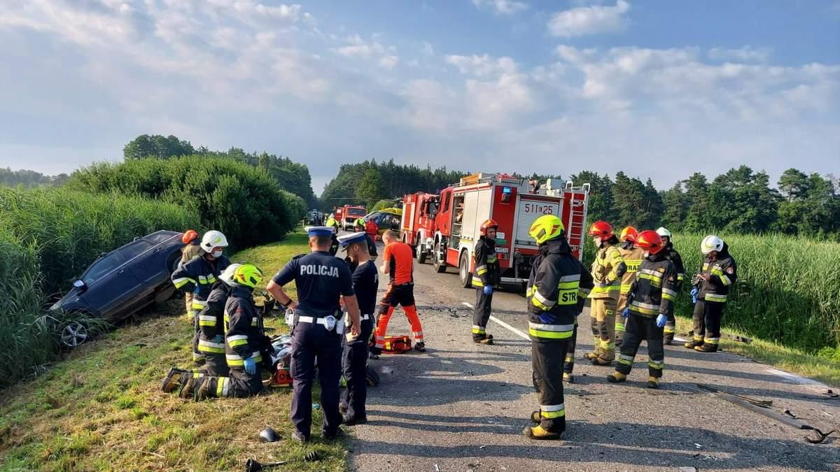 ДТП с  украинцами в Польше: что известно о состоянии пострадавших