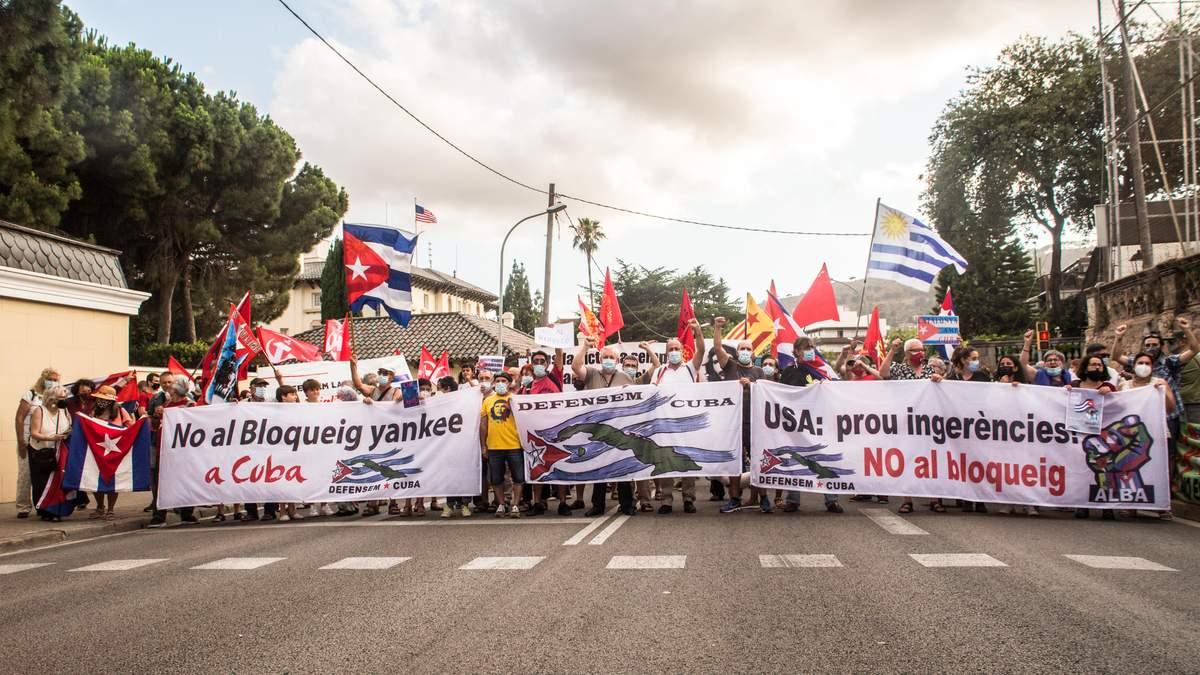 Під час протестів на Кубі понад 500 людей зникли безвісти