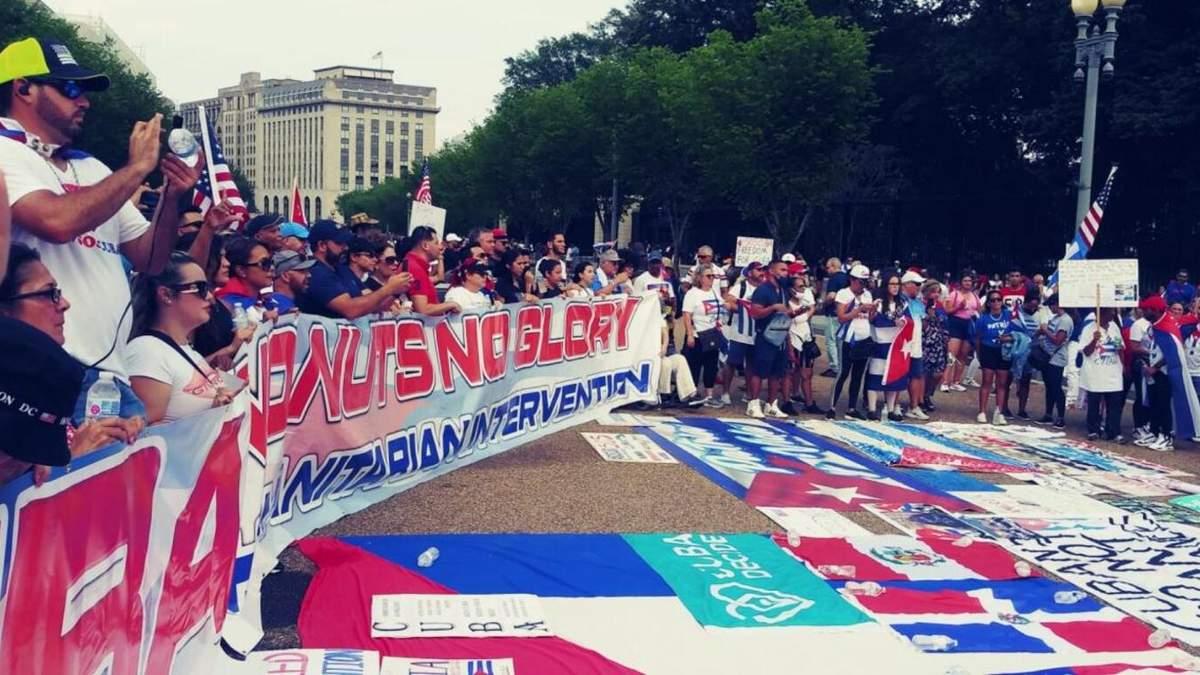 Протесты на Кубе: Украина и другие 19 стран осудили задержания