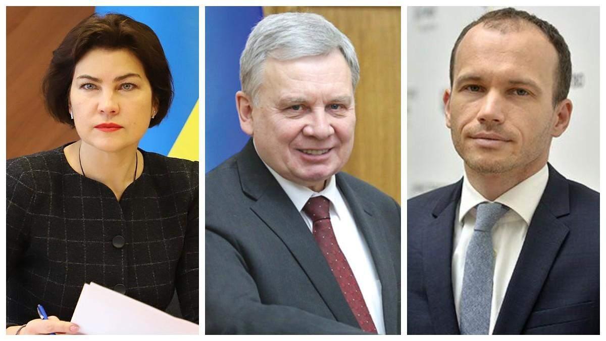 Восени депутати можуть звільнити Венедіктову, Тарана і Малюську