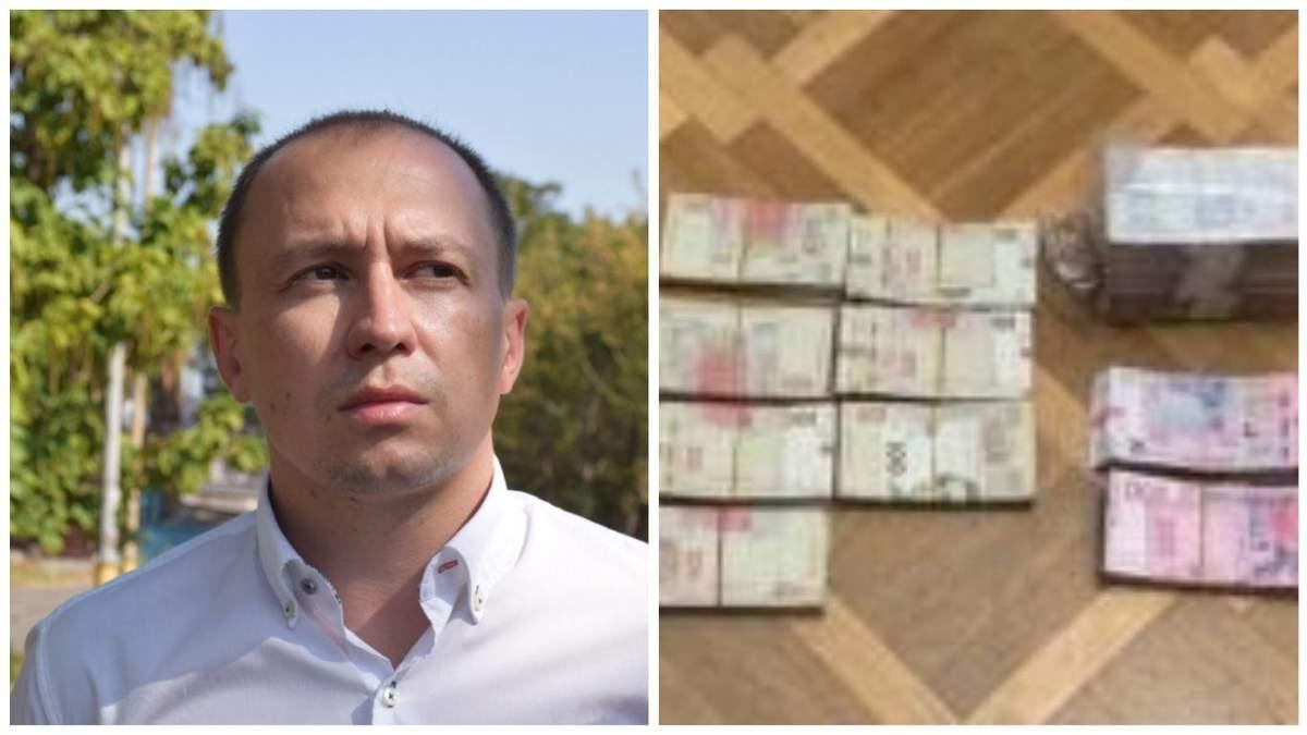 Взятку в Харьковской ОГА: сообщника Малыша Руслана Танабаша арестовали