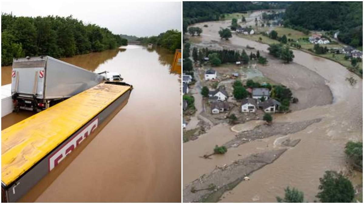 Наводнение в Европе июль 2021: ЕС заранее знал - Politico