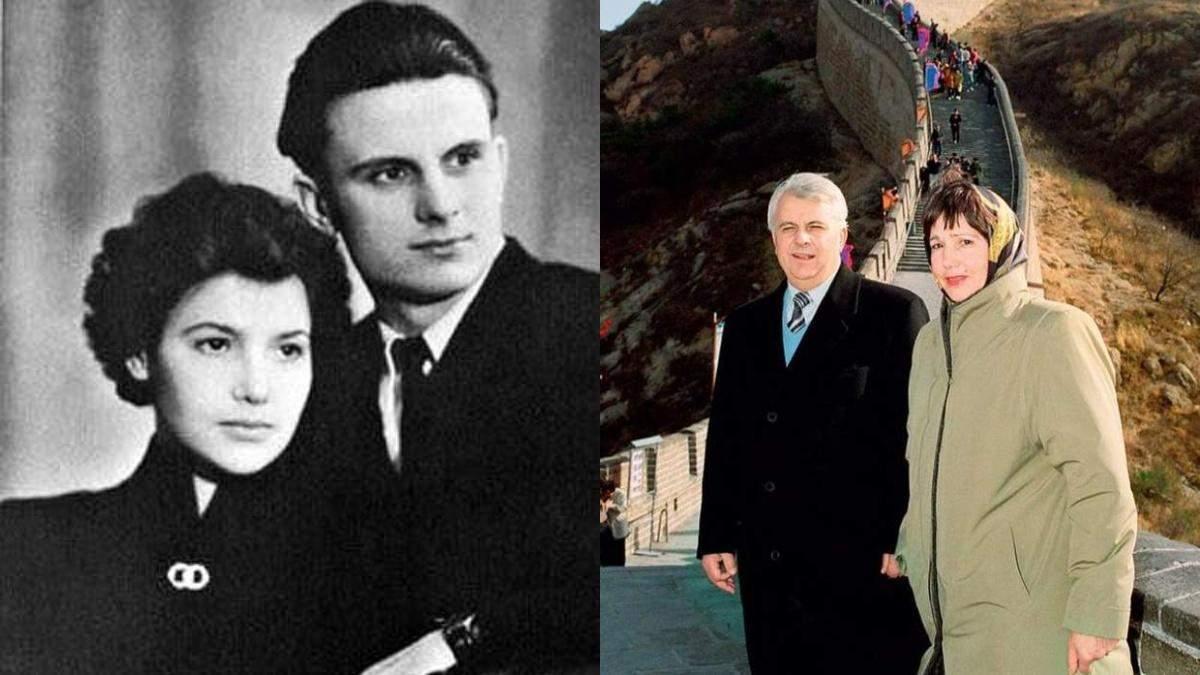 Леонід Кравчук з дружиною Антоніною