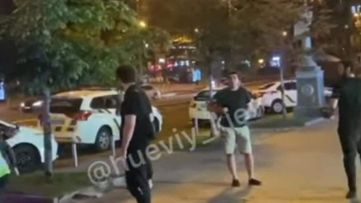 В центре Киева состоялась масштабная драка: второй раз за неделю