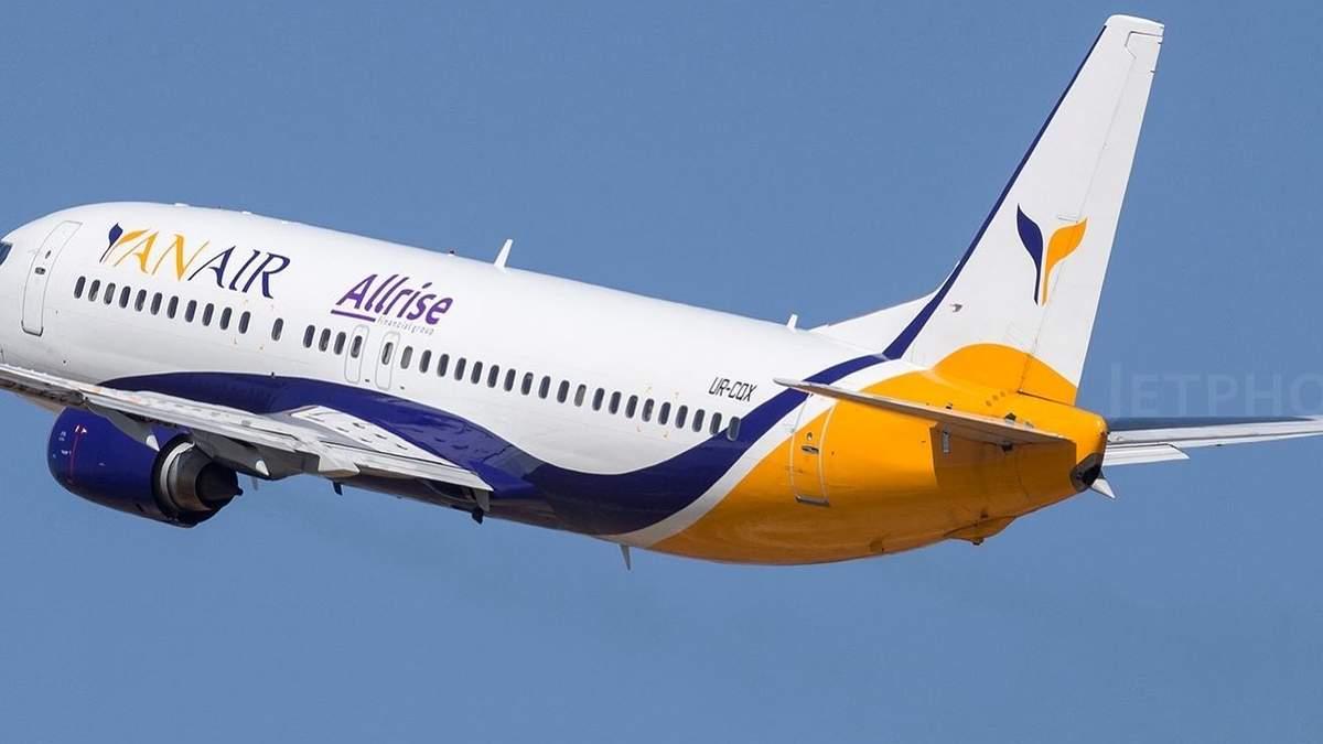 Самолет Киев - Батуми 27 июля 2021 вынужденно сел в Тбилиси: причина