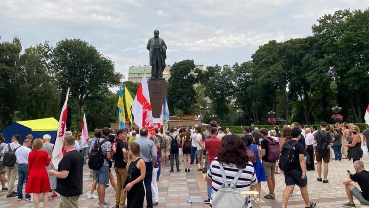 У Києві відсвяткували День незалежності Білорусі 27 липня 2021