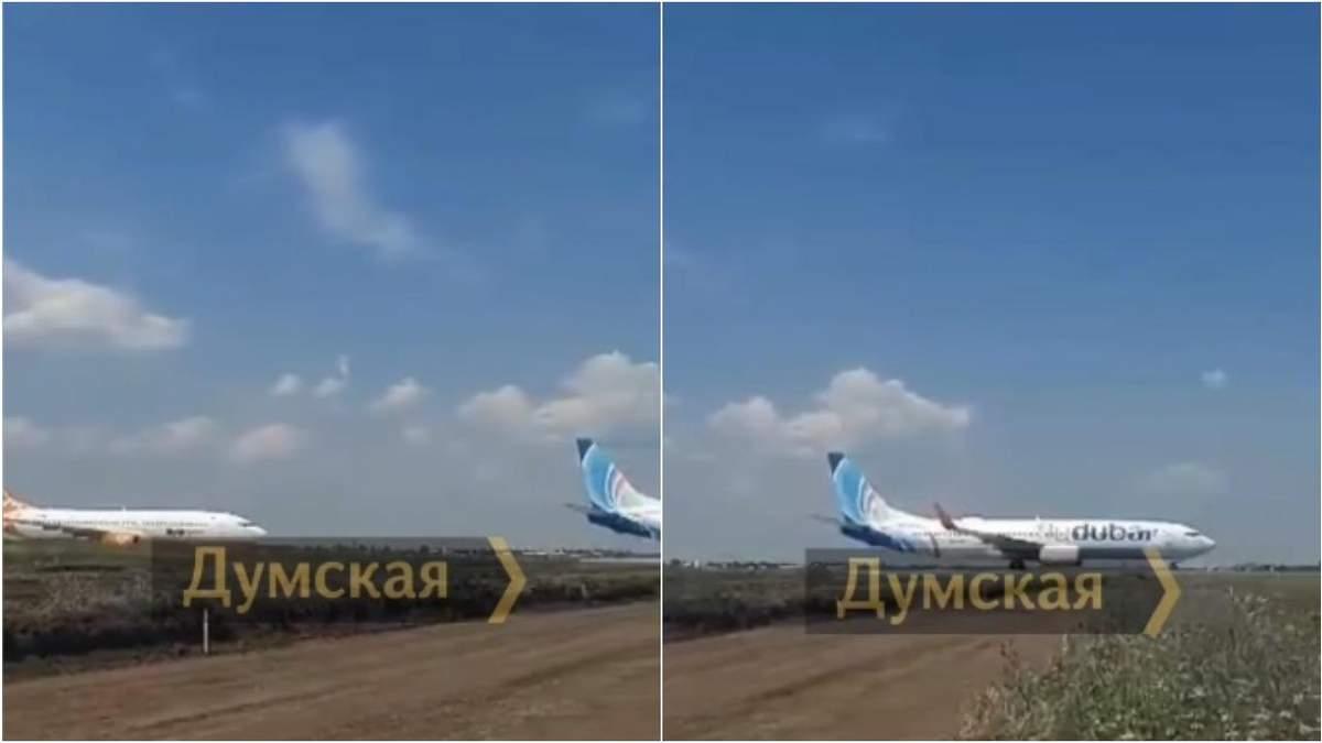 В аэропорту Одессы возникла пробка: в самолетах ждали 400 пассажиров