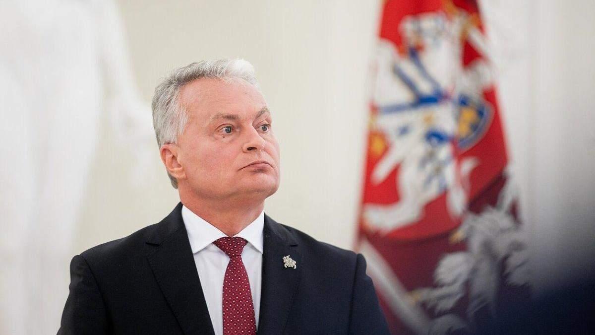 Президент Литвы Науседа прокомментировал введение чрезвычайного положения на границе с Беларусью