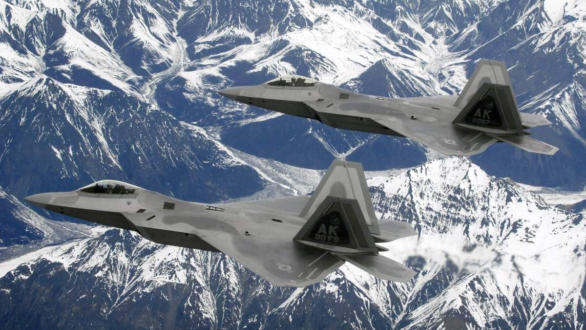 США перехопили найбільше літаків Росії з часів холодної війни
