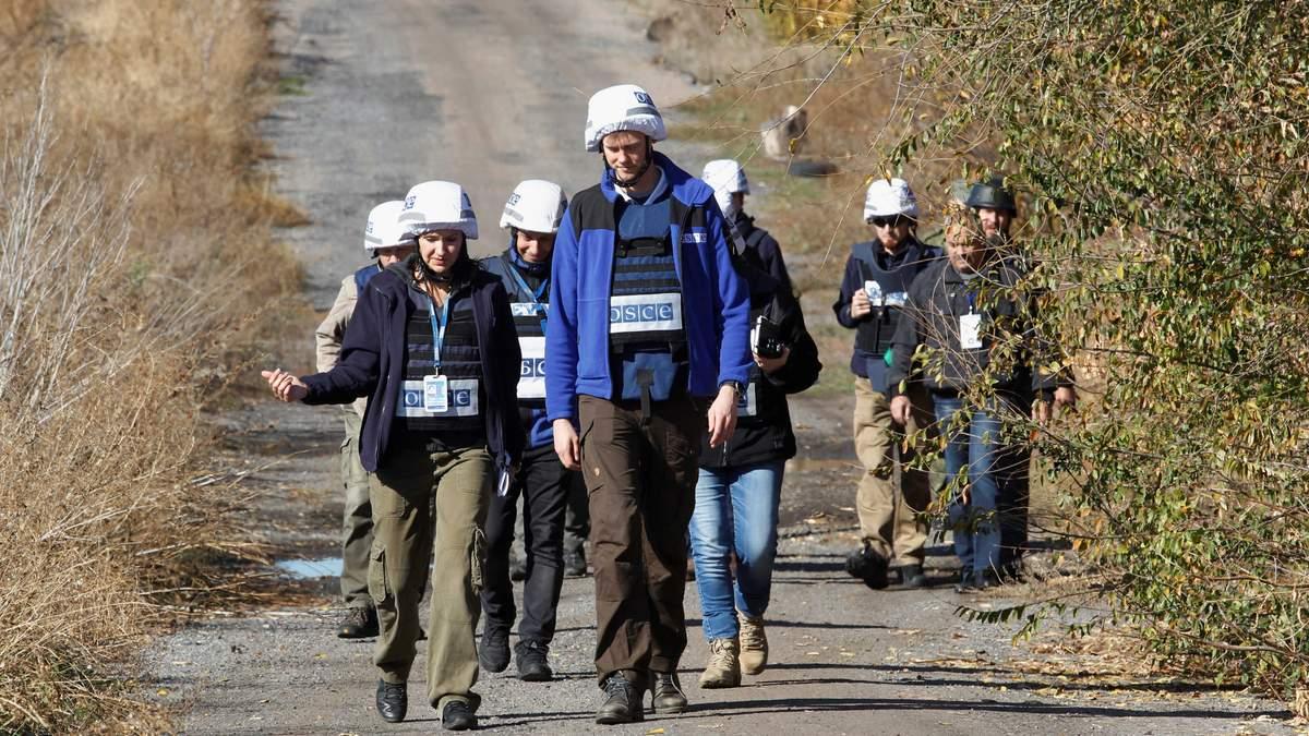 Місія ОБСЄ зафіксувала майже 400 порушень режиму тиші на Донбасі