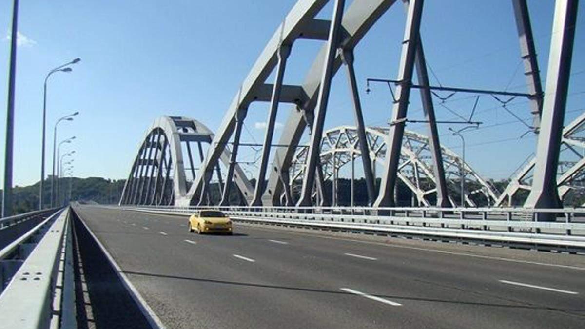 Правительство заложило 500 млн на строительство Дарницкого моста
